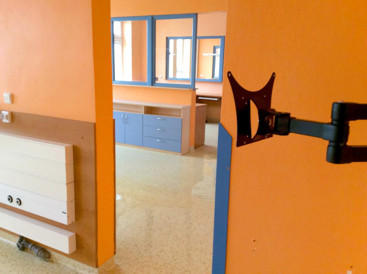 Generální po stavební úklid nemocnice Jilemnice